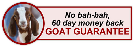 Invisible Weight Loss Goat Guarantee