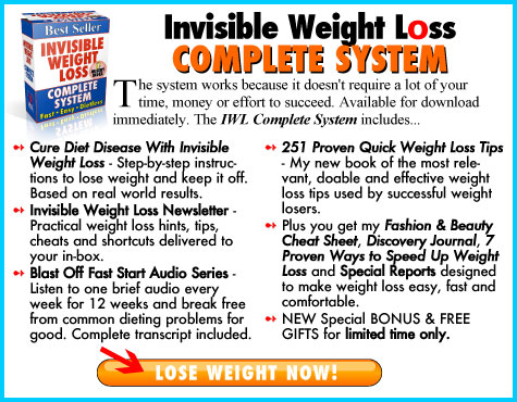 The complete Invisible Weight Loss System