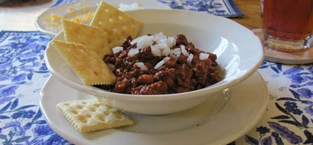 My husband's best chili recipe. Photo/B.Yarnell