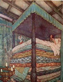 Weight loss and food myths revealed. Illustration by Edmund Dulac.