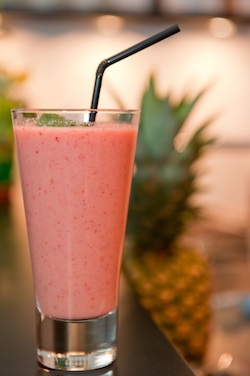 Breakfast fruit smoothie. Photo/Matthias Rhomberg