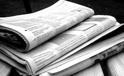 Newspaper and internet articles on obesity. Photo/NS Newsflash