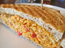 Pimento cheese sandwich recipes rein supreme in Texas households. Photo/biskuit