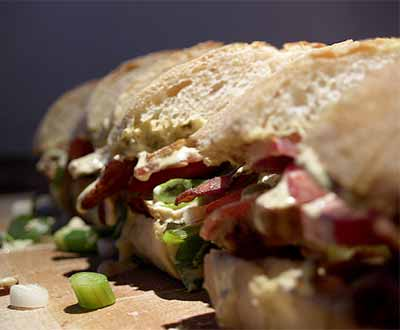 Sandwich recipes. Photo/cyclonebill