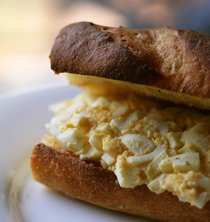 This egg salad recipe is anything but boring. Photo/monkeycat!