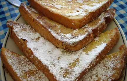 Classic french toast recipe. Photo/B.Yarnell
