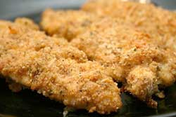 My favorite oven fried chicken recipe. Photo/adinaplus